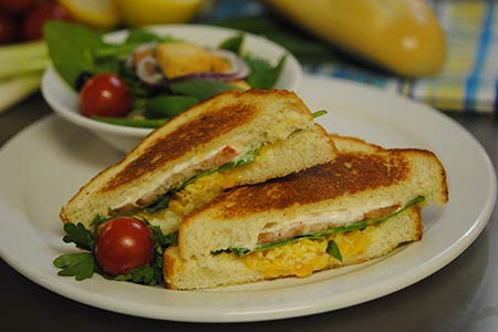 Cynthia's Grilled Cheese Sandwich