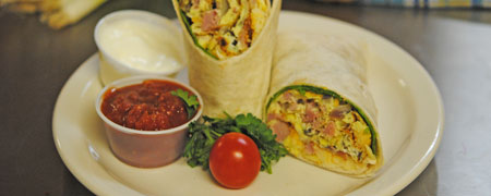 Snow Queen Restaurant - Breakfast Wrap