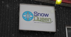 Snow Queen Restaurant - Sign